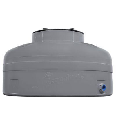 Caixa De Água 500L Fácil Instalação Polietileno Tampa Rosca Cinza