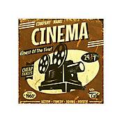 Azulejo Decorado Cinema 20x20cm