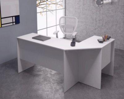 Mesa de Computador BHO 08-06 77x1648 MDP Branco