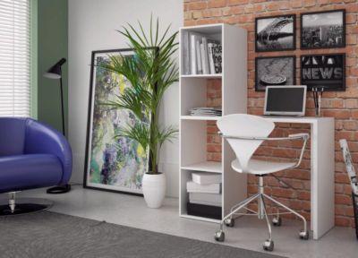 Estante Escrivaninha BE 57-06 146x109 MDP Branco