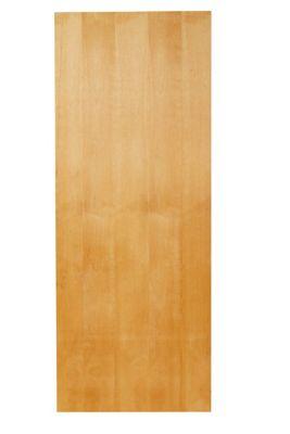 Folha de Porta Lisa Madeira Colmeia Pinus Natural 210x82x3,5cm Economica