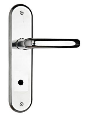 Fechadura para Banheiro 1300 18x12cm Espelhado Cromado