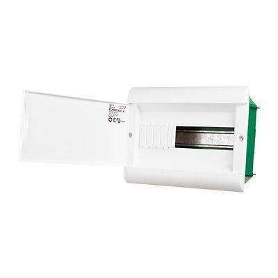 Quadro Embutir Branco Para 12 Disjuntores