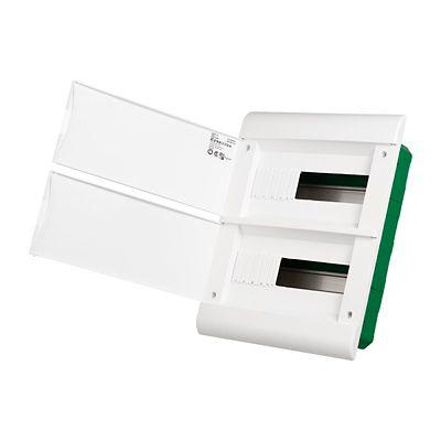 Quadro Embutir Branco Para 24 Disjuntores
