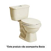 Caixa Acoplada para Vaso Sanitário Dual Flush Áries Bege 3L e 6L