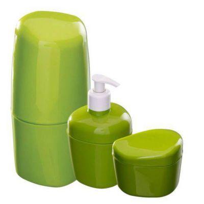 Kit para Banheiro 3 Peças Abacate