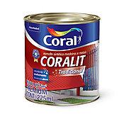 Esmalte Sintético Alto Brilho Branco 225ml Coralit Premium para Madeiras e Metais