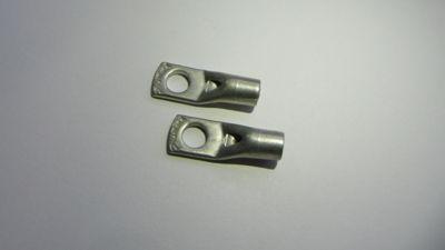 Terminal Compressão Cromado Para Fio/Cabo 4-6Mm2 Com 2 Peças
