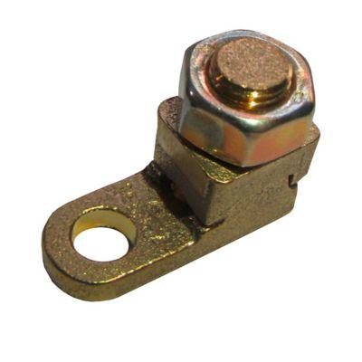 Terminal Compressão / Aperto Dourado Para Fio/Cabo 6Mm2 Com 1 Peças
