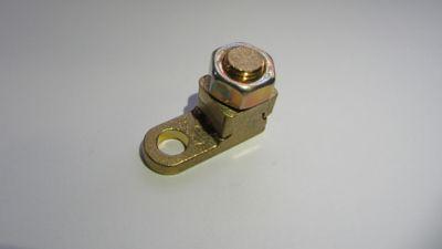 Terminal Compressão / Aperto Dourado Para Fio/Cabo 50Mm2 Com 1 Peças