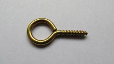 Pitão Bicromatizado para Madeira 17x40mm 100 Peças Dourado