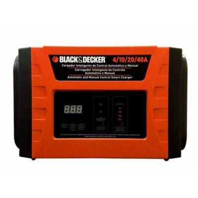 Carregador de Bateria Inteligente 220V Laranja Black+Decker