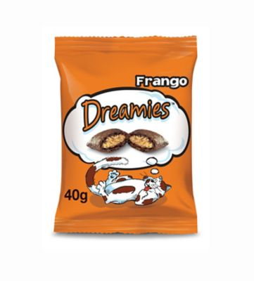 Petisco Dreamies para Gatos Sabor Frango 40g