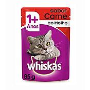 Ração Úmida Sachê para Gatos Adultos Sabor Carne 85g
