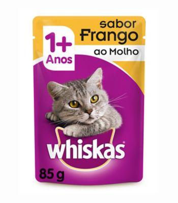 Ração Úmida Sachê para Gatos Adultos Sabor Frango 85g
