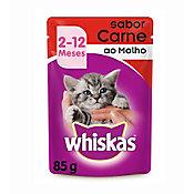 Ração Úmida Sachê para Gatos Filhotes Sabor Carne 85g