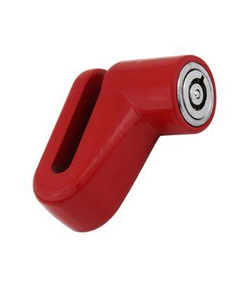 Trava de Disco de Freio para Moto Vermelho