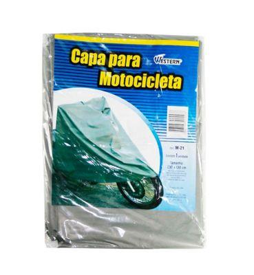 Capa para Moto Cinza