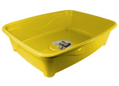 Banheira para Gato Classic Amarelo