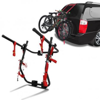 Suporte Veicular para Bicicleta 22x102cm Preto