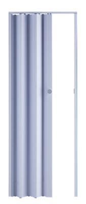 Porta Sanfonada de PVC 210x70cm Branco Easy Lock