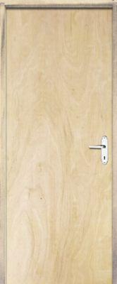 Porta Montada de Giro Lisa Madeira Sarrafeada Pinus Direita 210x72x9cm Economica
