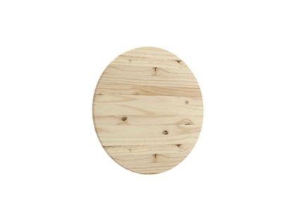 Tampos Pinus Redondo Padrão 100x100cm