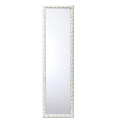 Espelho Geométrico 120x30cm Branco
