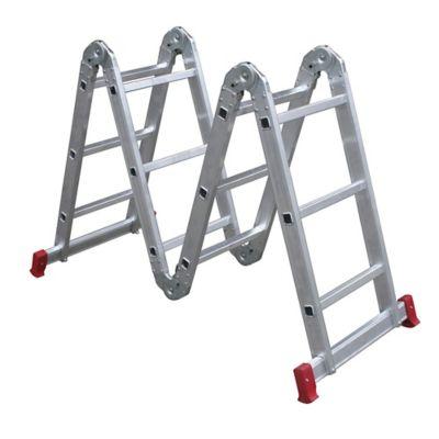 Escada Articulada Suprema Pro 12 Degraus Alumínio