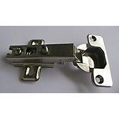 Dobradiça de Pressão Reta 1 Peça 35mm