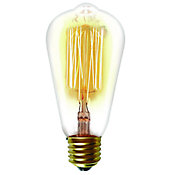 Lâmpada Filamento de Carbono ST64 40w 220v Amarelo