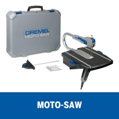 Serra de Broca 9050 Profissional Kit 1 Dremel 220V Cinza e Azul