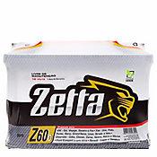 Bateria Zetta 60A Z60D MFA Preto