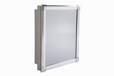 Armario para Banheiro de Embutir ou Sobrepor com Espelho 36x