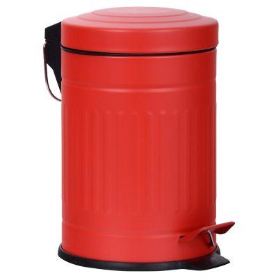 Lixeira com Pedal 3L Vermelho