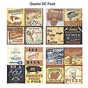 Revestimento Decorado Quarter DC Food 20,3x20,3cm