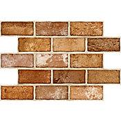 Revestimento Bronx Cotto 34x50cm Caixa 1,94m² Tijolo Cotto