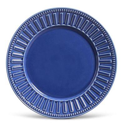 Prato Raso 26cm Roma Navy Azul