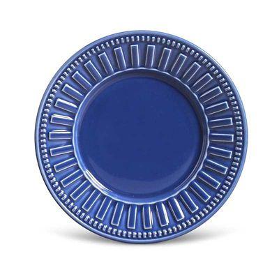Prato de Sobremesa 20cm Roma Navy Azul