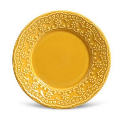 Prato de Sobremesa 20cm Madeleine Amarelo