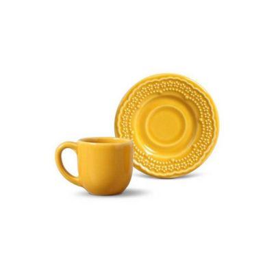 Xícara de Café Madeleine Amarelo