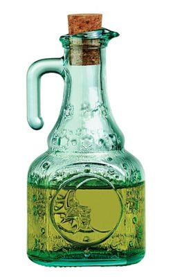 Azeiteiro com Rolha 250ml Helios Verde