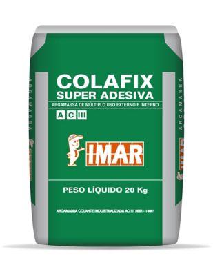 Argamassa Colafix Super Adesiva ACIII 20Kg Cinza