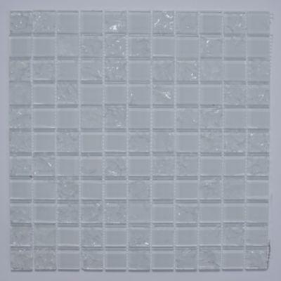 Pastilha Vidro Color WhiteBranco 29,5x29,5
