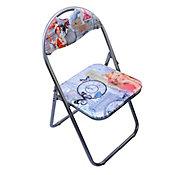 Cadeira Dobrável Vintage Moça Colorido