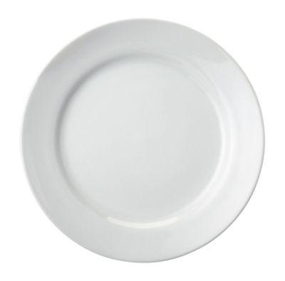 Prato Raso 27cm Cilindrico Branco