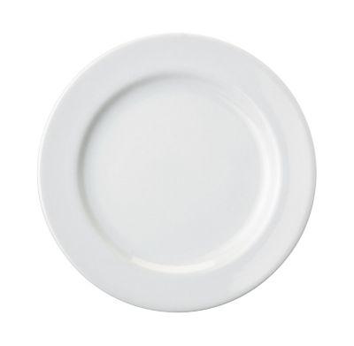 Prato de Sobremesa 19cm Cilindrico Branco