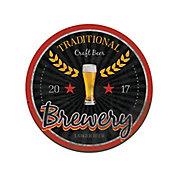 Placa Decorativa Traditional Brewery 29cm Colorido