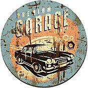 Placa Decorativa Premium Garage 29cm Colorido
