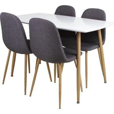 Conjunto de Mesa de Jantar Scan2 com 5 Peças